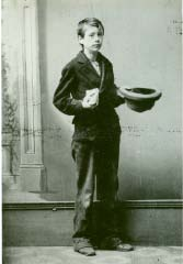 James Carling as a Boy