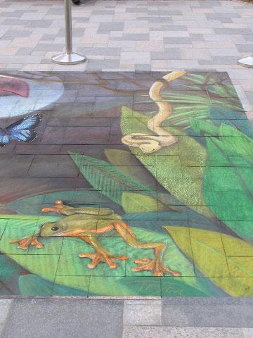 AfAH Dubai RTryon frog and snake