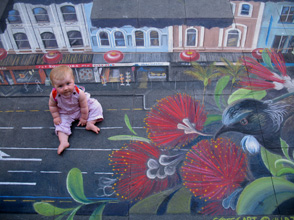 Rubyanna-with-ullas-pavement art sm
