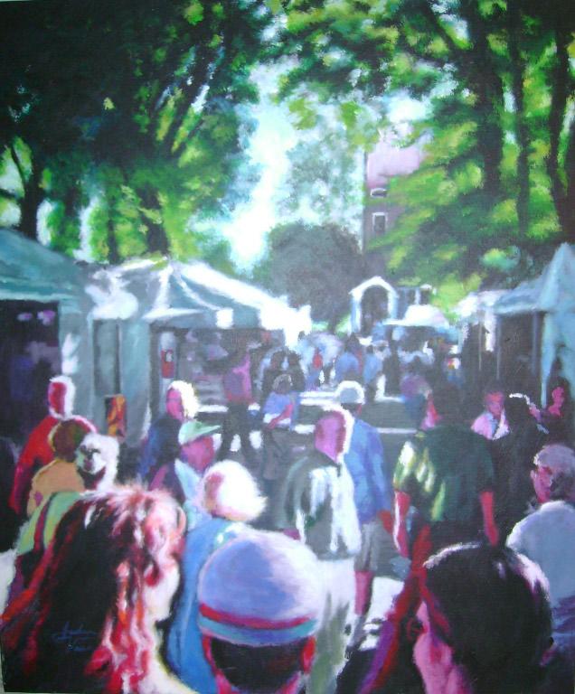 Joshua Vance St. James festival