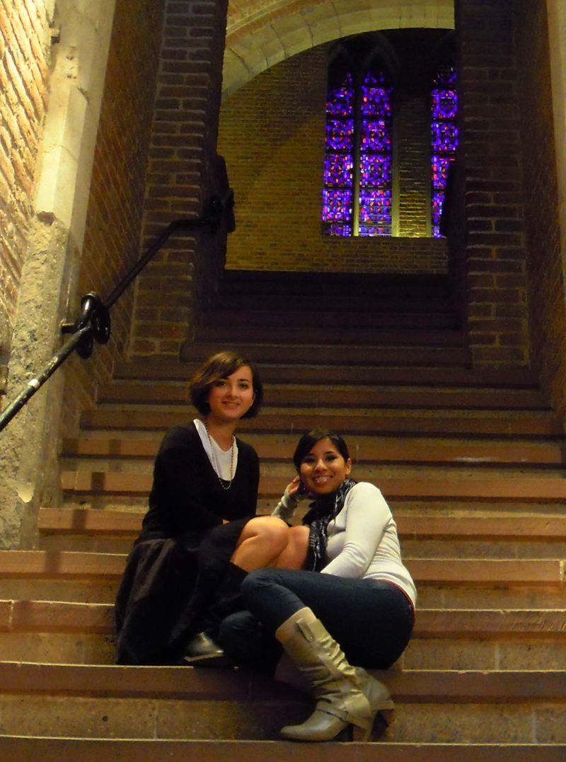 Valentina&Adry turists in Utrecht