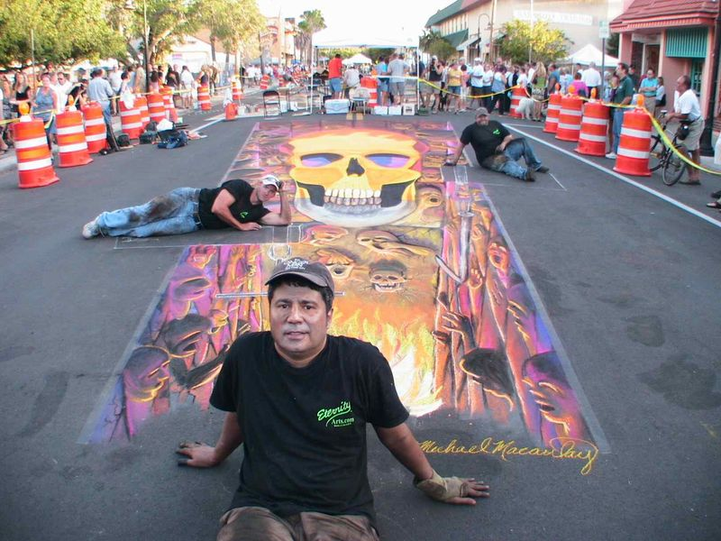 AfAH at Sarasota Chalk Festival 2010 WS 042