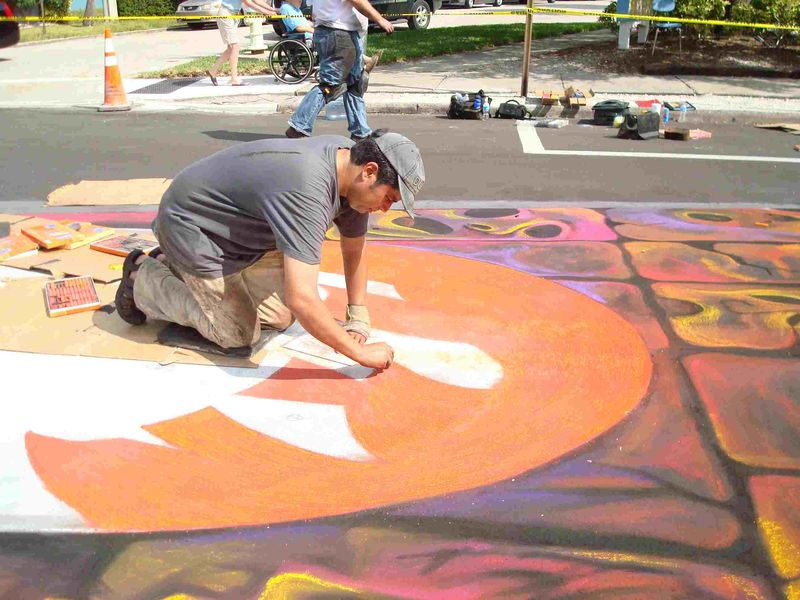 AfAH at Sarasota Chalk Festival 2010 WS 018