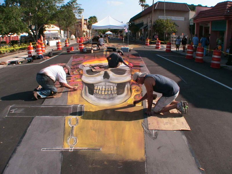 AfAH at Sarasota Chalk Festival 2010 WS 027