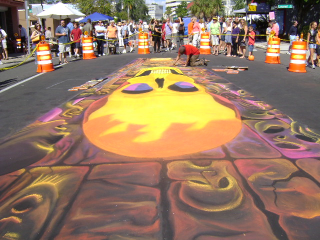 AfAH at Sarasota Chalk Festival 2010 333