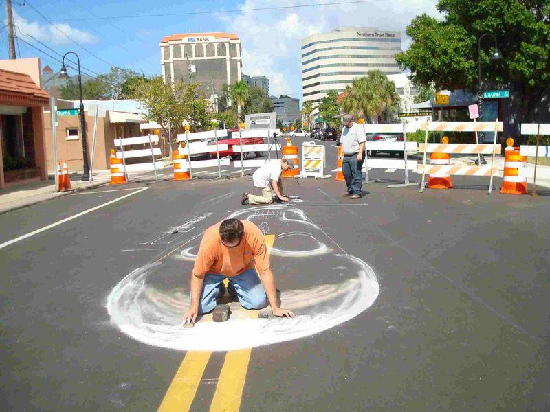 AfAH at Sarasota Chalk Festival 2010 WS 001