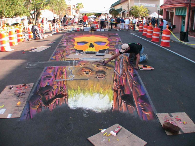 AfAH at Sarasota Chalk Festival 2010 WS 034