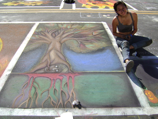 AfAH at Sarasota Chalk Festival 2010 349
