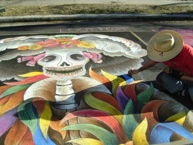 AfAH at Sarasota Chalk Festival 2010 420
