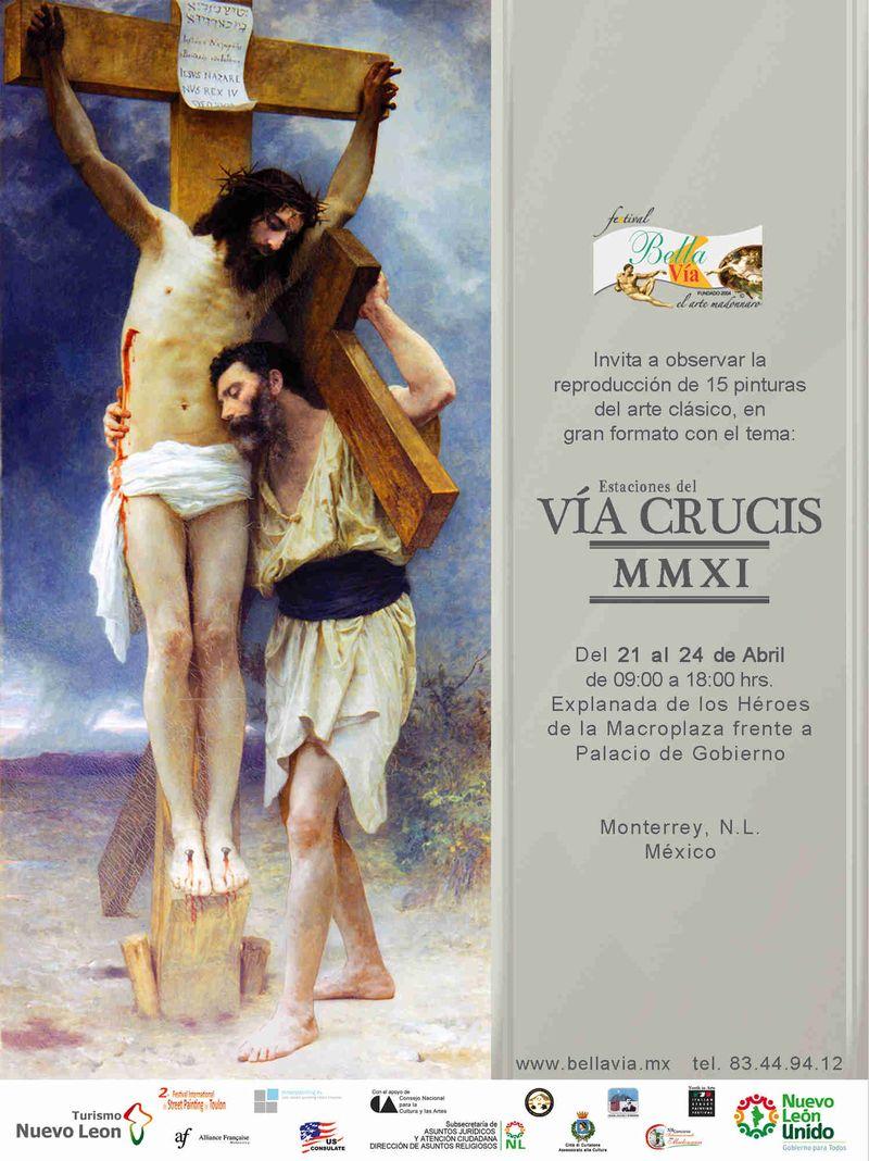 Via Crusis 2011 Flyer