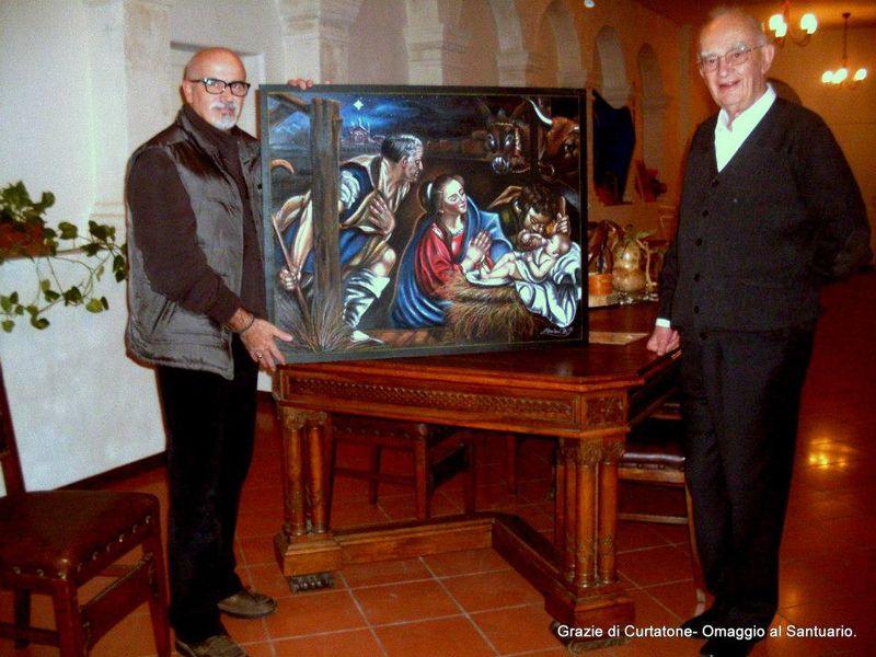 Madonnaro Bruno Fabriani and I